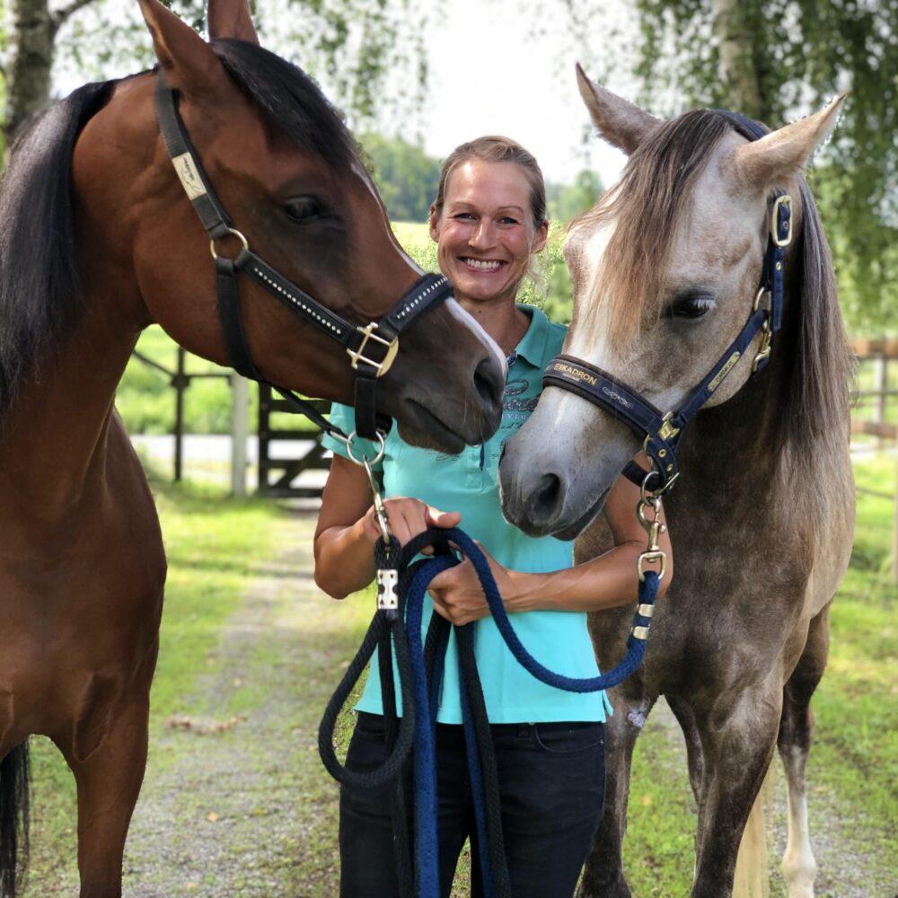 DIPO-Pferdeosteotherapeutin