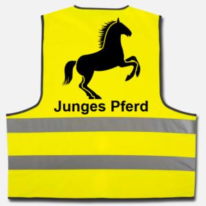 Warnweste Junges Pferd