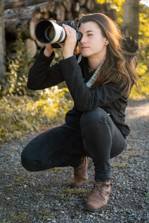 Fotografin für Tiere